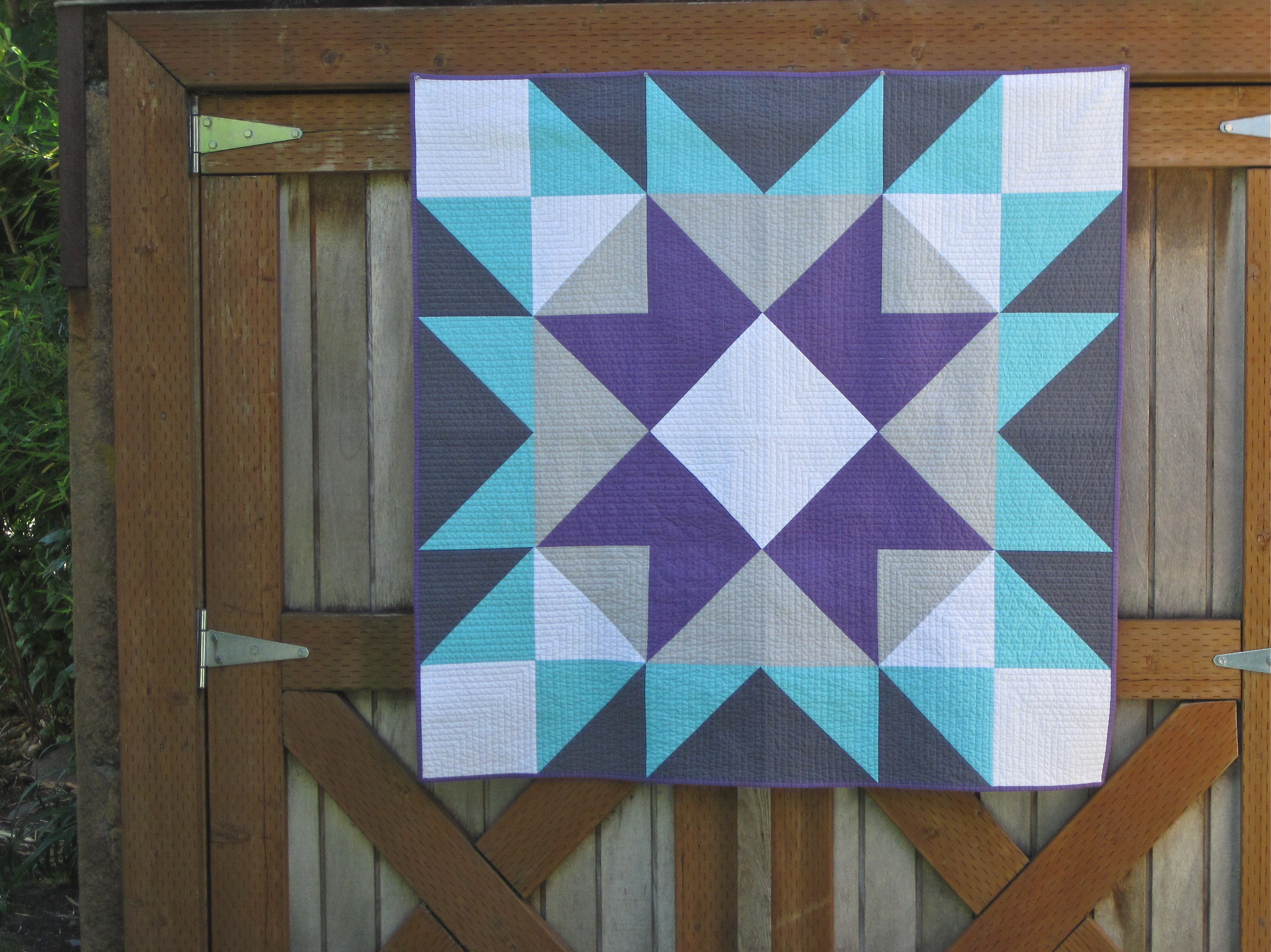 how to make a barn quilt square