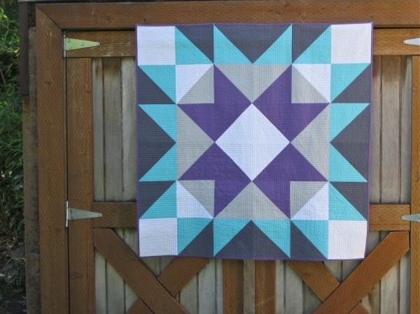 sewkatiedid/Barn Star Quilt