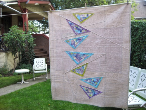 Sewkatiedid/diving geese quilt
