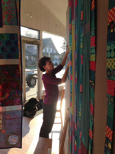 sewkatiedid/coin quilt workshop