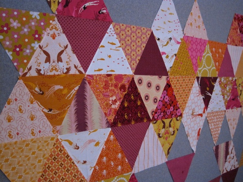 sewkatiedid/triangle quilts