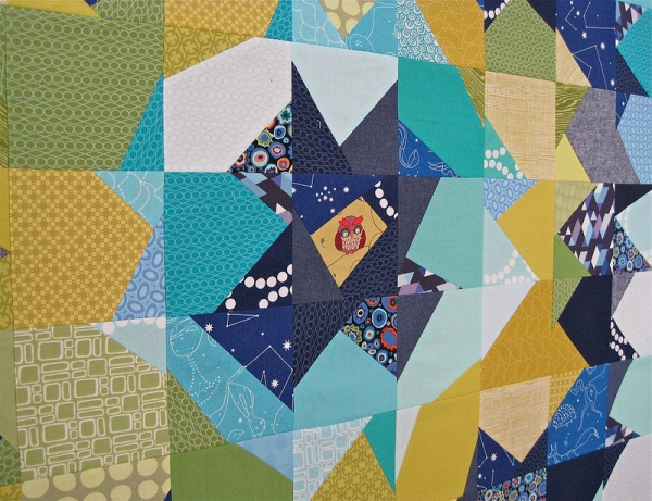 sewkatiedid/Night Owl Quilt