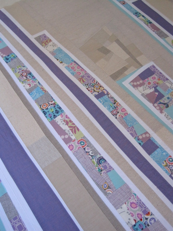 Soft Line To Follow Baby Quilt/Sew Katie Did