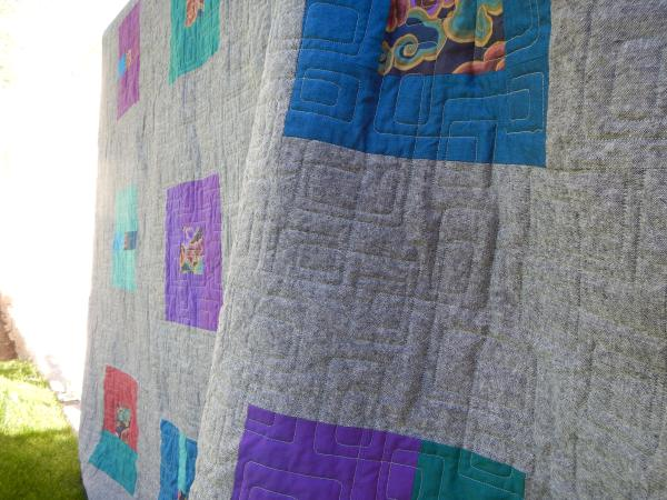 sewkatiedid/what a bunch of squares quilt