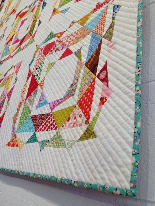 sewkatiedid:double-trouble take two quilt detail