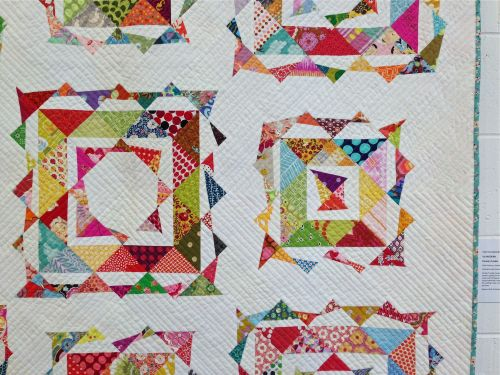 sewkatiedid:on-point double-trouble quilt