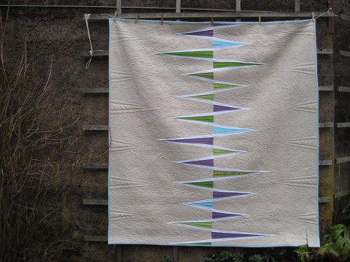 SEW KATIE DID/ Opposing Triangles Quilt