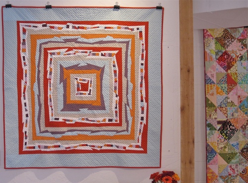SEW KATIE DID*Psychedelic Baby Quilt