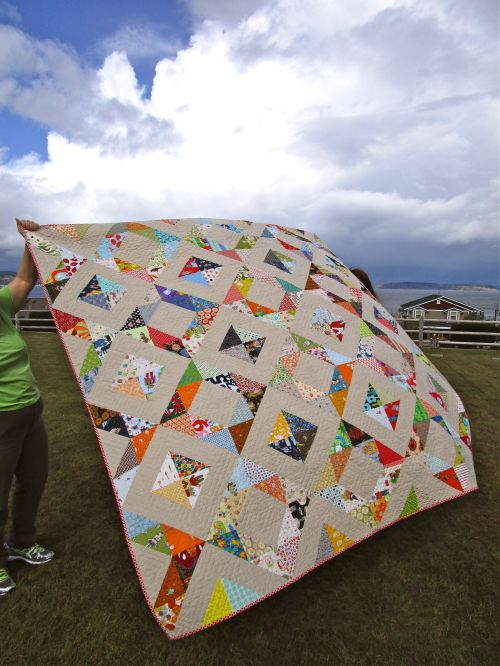 SEW KATIE DID: Roan's Quilt Full