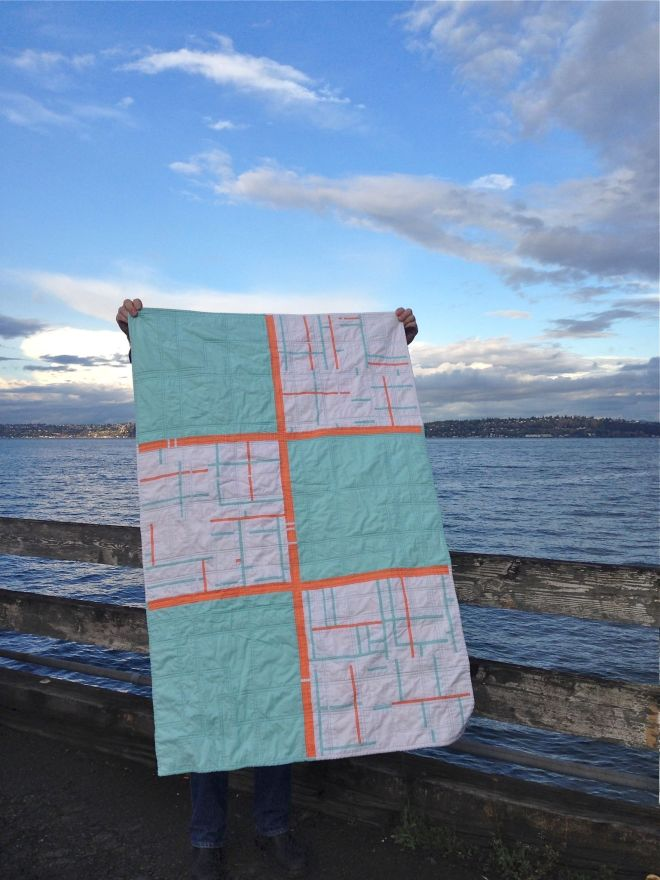 SEW KATIE DID:Fresh Cut Quilt Top