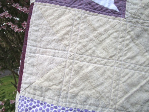 SEW KATIE DID:Boxed-In Block neutral