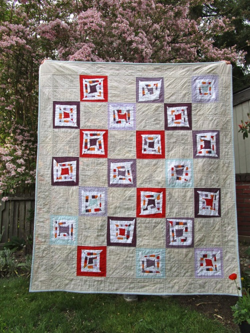 SEW KATIE DID:Boxed-In Quilt Full