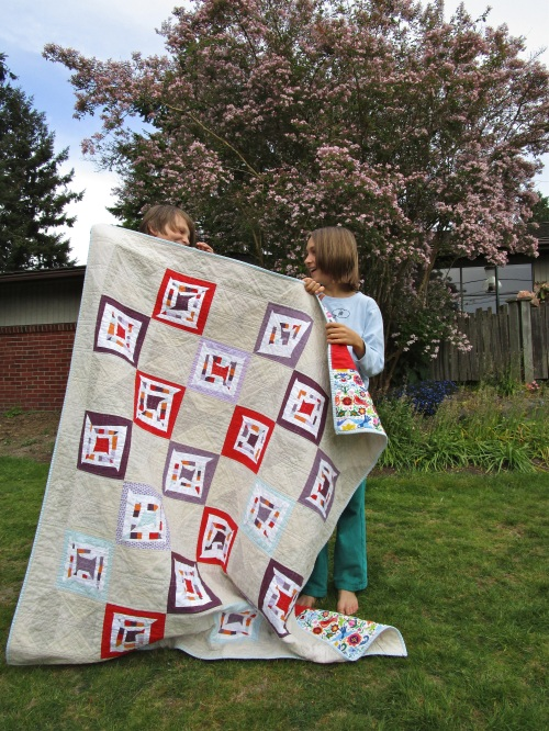 SEW KATIE DID:Boxed-In Quilt