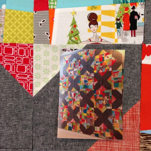 SEW KATIE DID/Split Personality quilt