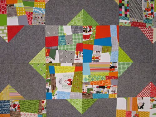 SEW KATIE DID:Split Personality Quilt Block Detail