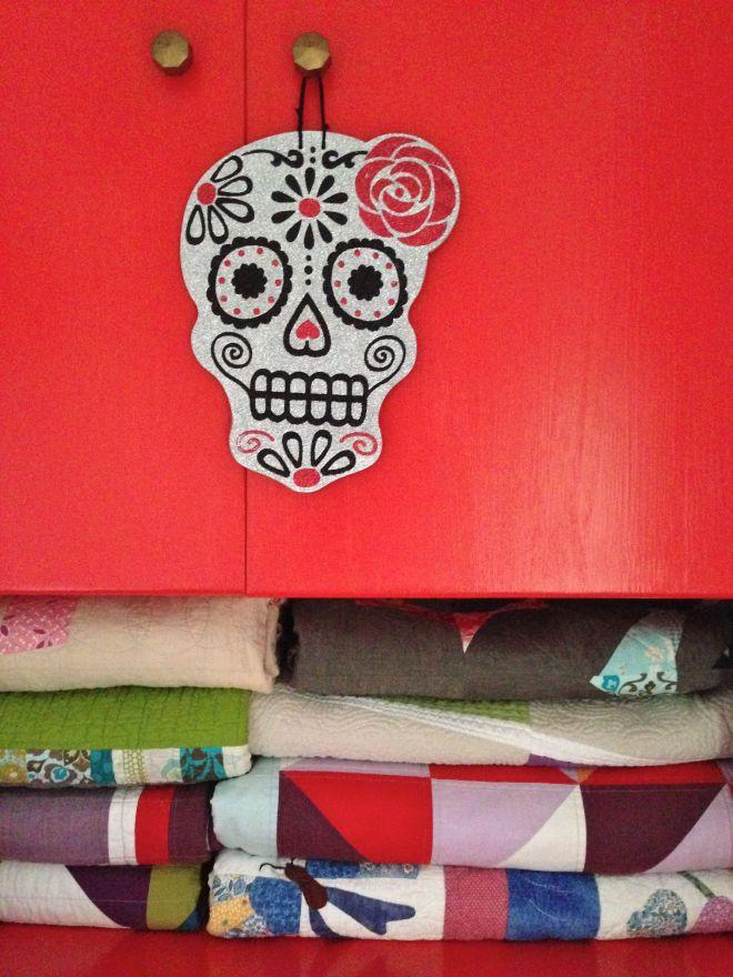 SEW KATIE DID:Halloween Skull