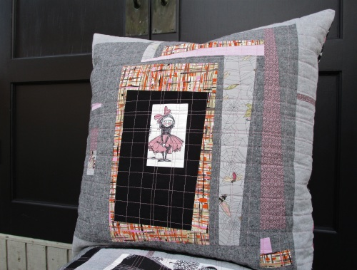 SEW KATIE DID:Improv Patchwork Workshop:Hammer Girl