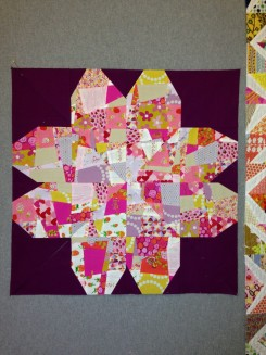 SEW KATIE DID:Split Personality Block:Flower