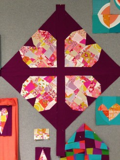 SEW KATIE DID:Split Personality Block:Hearts