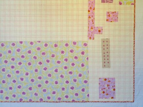 SEW KATIE DID:Garden Plot magic number quilt back